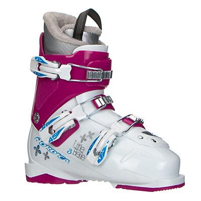 Nordica Little Belle 3 Girls Ski Boots 2017, White-Purple, viewer