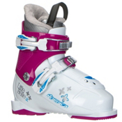 Nordica Little Belle 2 Girls Ski Boots 2017, White-Purple, medium