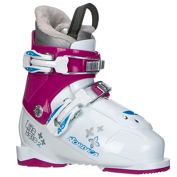 Nordica Little Belle 2 Girls Ski Boots 2017, White-Purple, 600