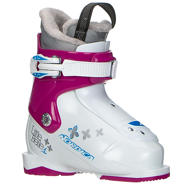 Nordica Little Belle 1 Girls Ski Boots 2017, White-Purple, 600