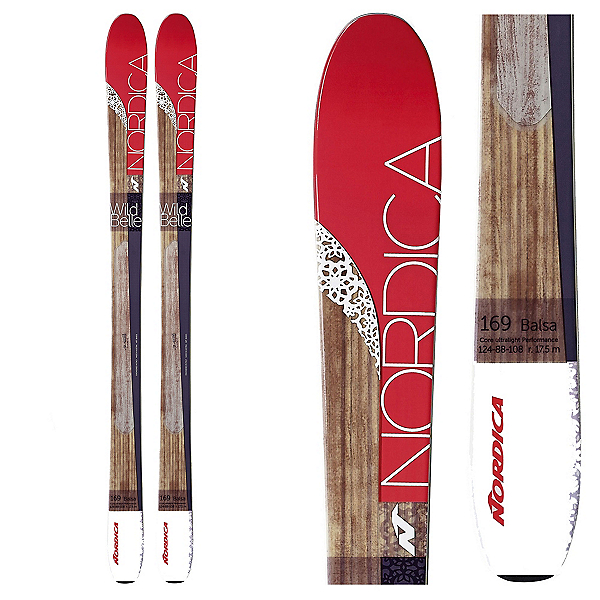 Nordica Wild Belle Womens Skis, , 600