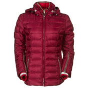 Bogner Kelly D Womens Insulated Ski Jacket, Grape Red, medium