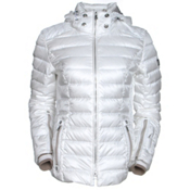 Bogner Kelly D Womens Insulated Ski Jacket, Off White, medium