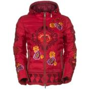 Bogner Jacky-D Womens Insulated Ski Jacket, Red, medium