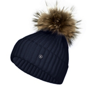 Bogner Leonie Womens Hat, Dark Blue, medium