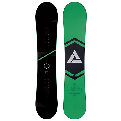 Academy Snowboards Icon Green Snowboard, , viewer