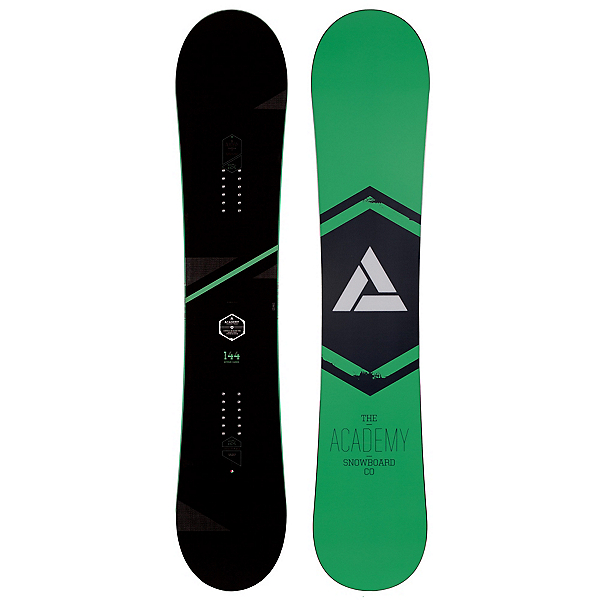 Academy Snowboards Icon Green Snowboard, , 600