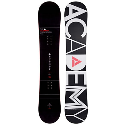 Academy Snowboards Icon Red Snowboard, , viewer