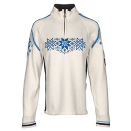 Dale Of Norway Holmenkollen Feminine Womens Sweater, Off White-Navy-Cobalt, 256