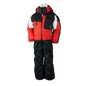 Obermeyer Turoa Toddlers One Piece Ski Suit, Lava, medium