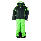 Obermeyer Turoa Toddlers One Piece Ski Suit, Glowstick, medium