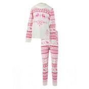 Obermeyer Oberundies Set Girls Long Underwear Top, Wild Pink, medium