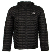 The North Face ThermoBall Hoodie Mens Jacket, TNF Black, medium