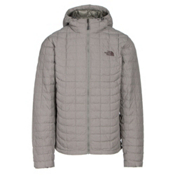 The North Face ThermoBall Hoodie Mens Jacket, Fusebox Grey Texture, medium