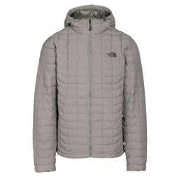 The North Face ThermoBall Hoodie Mens Jacket, Fusebox Grey Texture, 256