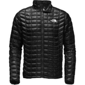 The North Face ThermoBall Full Zip Mens Jacket, TNF Black, medium