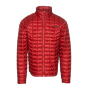 The North Face ThermoBall Full Zip Mens Jacket, Cardinal Red, medium