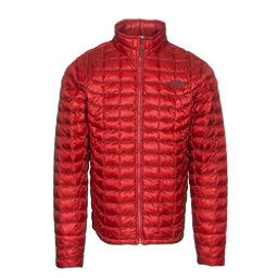 The North Face ThermoBall Full Zip Mens Jacket, Cardinal Red, 256