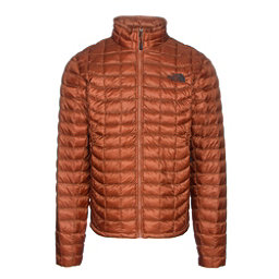 The North Face ThermoBall Full Zip Mens Jacket, Gingerbread Brown, 256