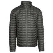 The North Face ThermoBall Full Zip Mens Jacket, Fusebox Grey, medium