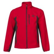 The North Face Pneumatic Mens Soft Shell Jacket, TNF Red-Asphalt Grey, medium