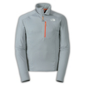 The North Face Incipient 1/4 Zip Mens Mid Layer, Monument Grey, medium