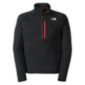The North Face Incipient 1/4 Zip Mens Mid Layer, TNF Black, medium