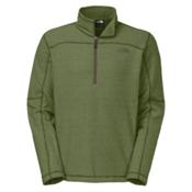 The North Face Texture Cap Rock 1/4 Zip Mens Mid Layer, Scallion Green, medium