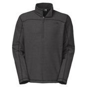 The North Face Texture Cap Rock 1/4 Zip Mens Mid Layer, Asphalt Grey-Asphalt Grey, medium