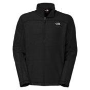 The North Face Texture Cap Rock 1/4 Zip Mens Mid Layer, TNF Black, medium