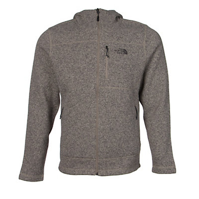 The North Face Gordon Lyons Mens Hoodie, Dune Beige Heather, viewer