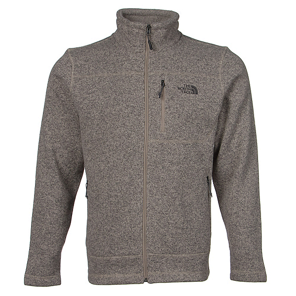 The North Face Gordon Lyons Full Zip Mens Jacket, Dune Beige Heather, 600