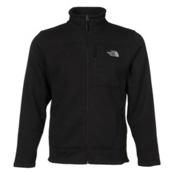The North Face Gordon Lyons Full Zip Mens Jacket, TNF Black Heather, medium