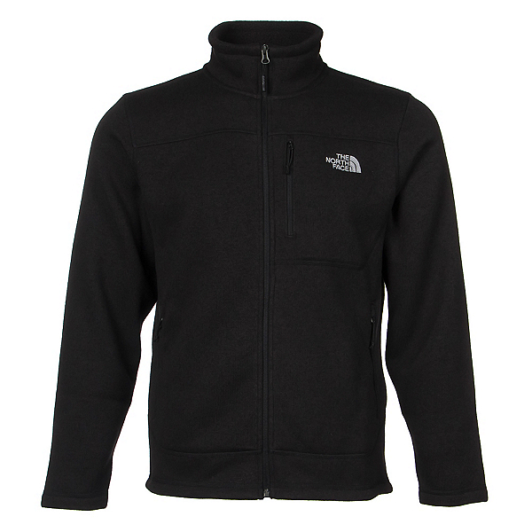 The North Face Gordon Lyons Full Zip Mens Jacket, TNF Black Heather, 600
