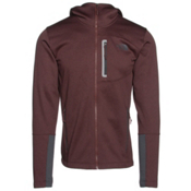 The North Face Canyonlands Full Zip Hoodie, Sequoia Red Heather-Asphalt Gr, medium