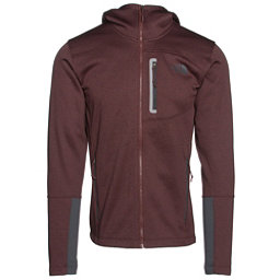The North Face Canyonlands Full Zip Hoodie, Sequoia Red Heather-Asphalt Gr, 256