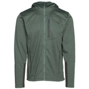 The North Face Canyonlands Full Zip Hoodie, Duck Green Heather, medium