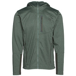 The North Face Canyonlands Full Zip Hoodie, Duck Green Heather, 256