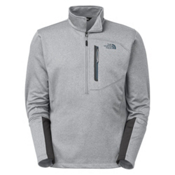 The North Face Canyonlands 1/2 Zip Mens Mid Layer, High Rise Grey Heather, medium