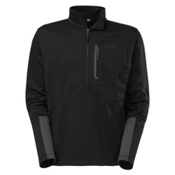 The North Face Canyonlands 1/2 Zip Mens Mid Layer, TNF Black, medium