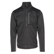 The North Face Canyonlands Half Zip Mens Mid Layer, TNF Black, medium