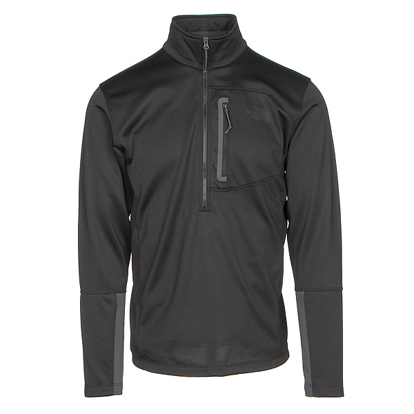 The North Face Canyonlands Half Zip Mens Mid Layer, TNF Black, 600