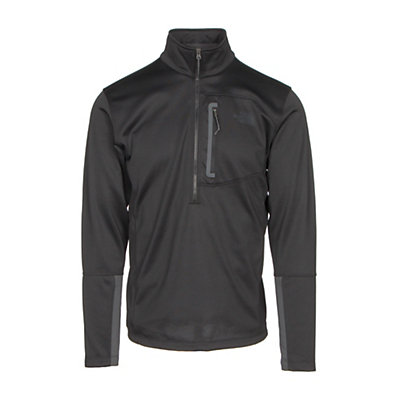 The North Face Canyonlands Half Zip Mens Mid Layer, TNF Black, viewer