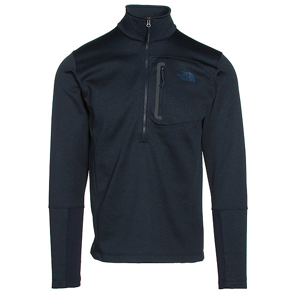 The North Face Canyonlands Half Zip Mens Mid Layer, Urban Navy Heather, 600