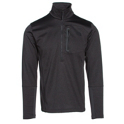 The North Face Canyonlands Half Zip Mens Mid Layer, TNF Dark Grey Heather, medium