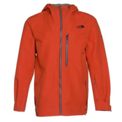 The North Face FuseForm Brigandine 3L Mens Shell Ski Jacket, Zion Orange, medium