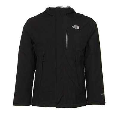 The North Face Plasma ThermoBall Mens Insulated Ski Jacket, Sequoia Red-Asphalt Grey, viewer