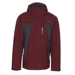 The North Face Plasma ThermoBall Mens Insulated Ski Jacket, Sequoia Red-Asphalt Grey, 256