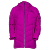The North Face Point It Down Hybrid Womens Insulated Ski Jacket, Magic Magenta, medium