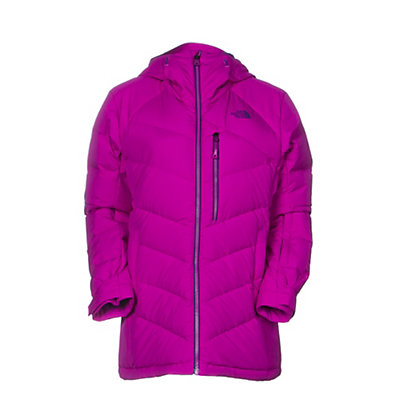 The North Face Point It Down Hybrid Womens Insulated Ski Jacket, Garnet Purple, viewer